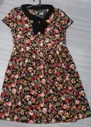 Новое платье в цветочный принт