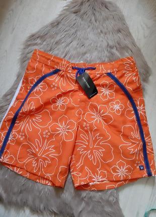 Летние пляжнве мужские шорты с сеткой bruno banani  гериания