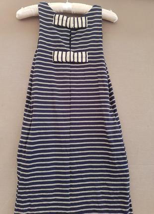 Mango шикарное платье с карманами ы вырезом на спине  трикотажное