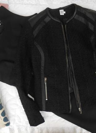 Стильное платье и курточка жакет 38 размер