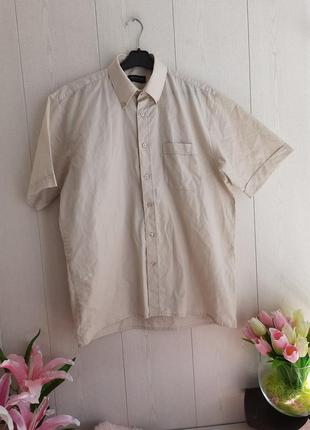 Стильная брендовая рубашка с коротким рукавом/качественная тенниска/красивая рубашка