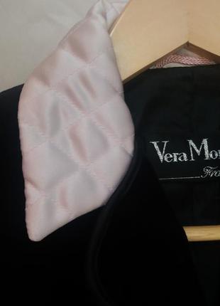 Шикарный бархатный пиджак, размер m- l, франция, с контрастным стеганным воротником и окантовкой
