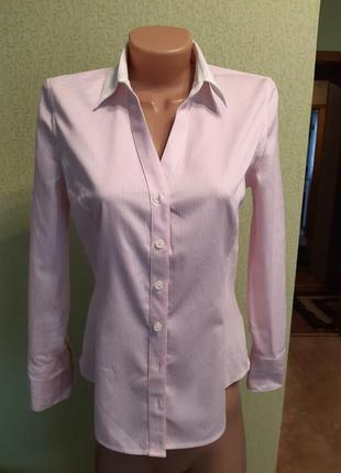 Женская рубашка в полоску