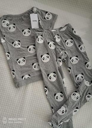 Домашний костюм пижама от бренда sinsay xs-s