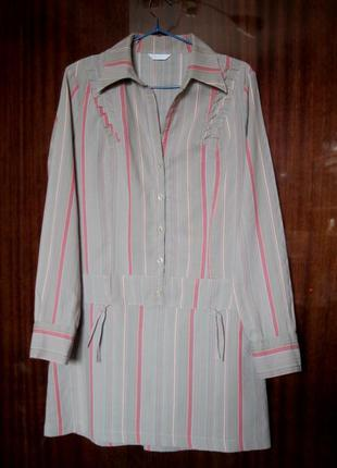 Рубашка-туника на 46 украинский размер.