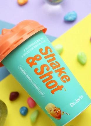 Альгинатная маска-коктейль для сияния dr.jart+ dermask shaking rubber luminous shot