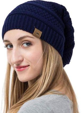 Новая стильная шапка бини чулок унисекс