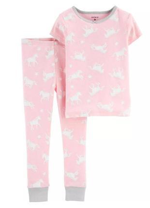 Пижама для девочки рр.92-104 единорожки carter's (картерс)