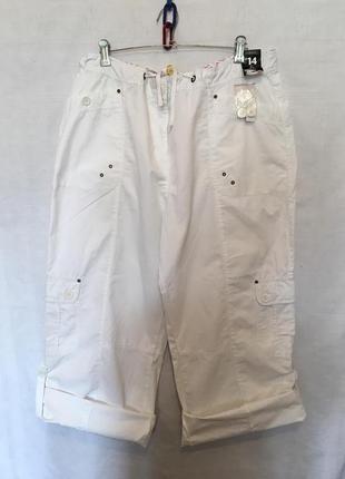 Стильні літні штани брюки з карманами /карго/ george/2-4 xl
