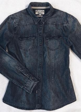 Джинсовая рубашка mcgregor