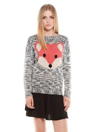 Продам свитерок bershka fox лиса