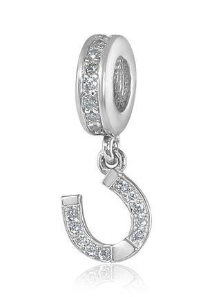 Шарм серебро 925 в стиле пандора подкова юм 3969