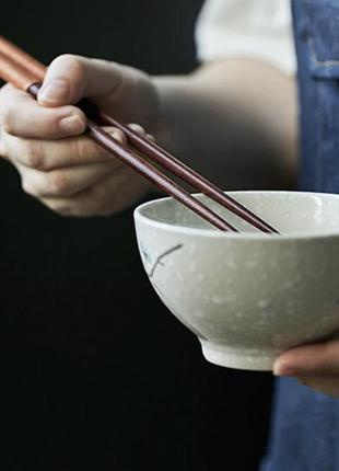 Многоразовые палочки для суши бук