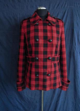 Короткое пальто h&m