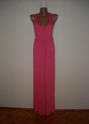 Платье george розового цвета  c  бабочкой на спине