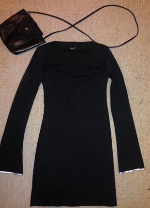 Классическое теплое платье