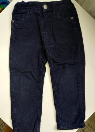 Вельветовые штанишки для мальчика primark