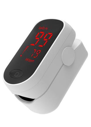 Пульсоксиметр. пульс оксиметр. pulse oximeter +подарок