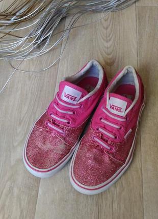 Кеды vans розового цвета р.38