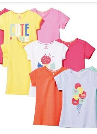 Суперціна!набір футболок lupilu(ціна вказана за набір)