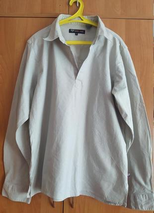 Лляна вишита сорочка