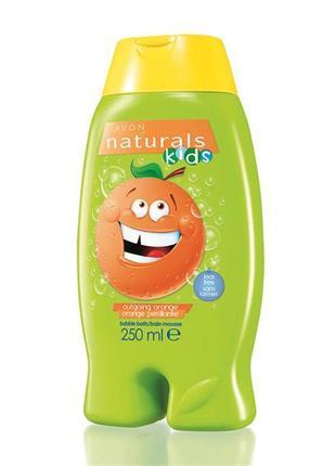 Дитячий гель для душу/ піна для ванни «помаранчевий настрій» (250 мл)