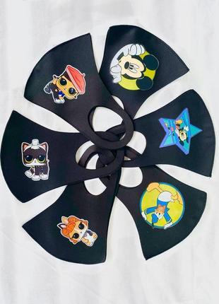 Многоразовая детская маска с микки маусом принтом рисунком