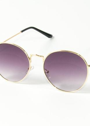 Модные круглые очки (арт. 9844/1)