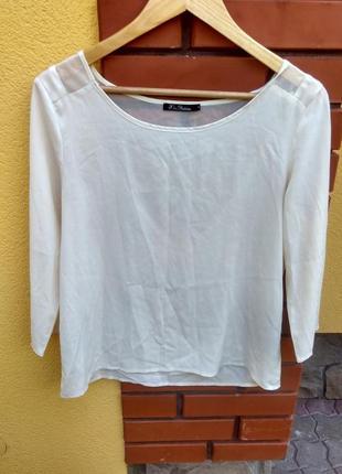 Белая рубашка сорочка блузка kira plastinina біла блузка