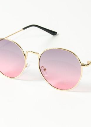Модные круглые очки (арт. 9844/2)