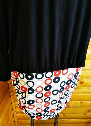 Оригинальное нарядное платье che che свободного кроя.5 фото