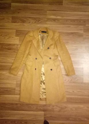 Пальто классическое zara woman