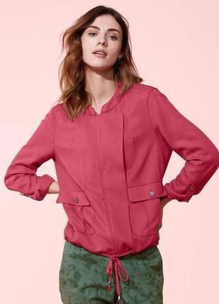 Лёгкая куртка блузон пиджак р.44,46 наш tcm tchibo, германия