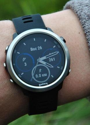 Новые часы спортивные garmin forerunner 645