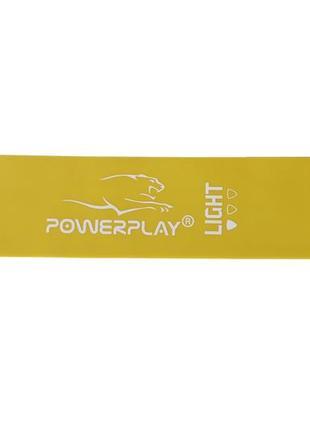Фітнес резинка powerplay light жовта