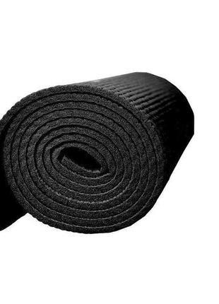 Коврик для йоги и фитнеса powerplay black5 фото