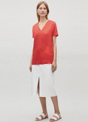 Шелковая блузку cos
