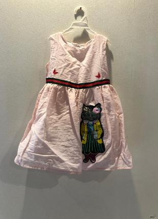 Классное летне платье 100р