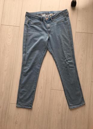 H&m джинсы зауженные