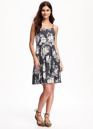 Натуральный, брендовый сарафан, платье, old navy, р.xs, s