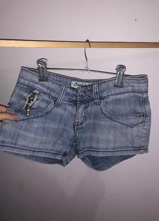 Джинсовые шорты размер xs