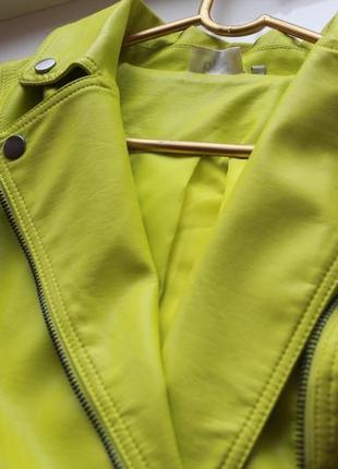 Кожанная куртка bonprix