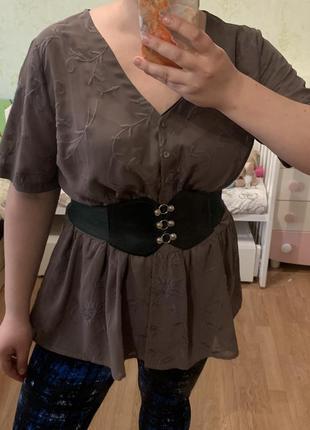 Обалденная блуза с вышивкой