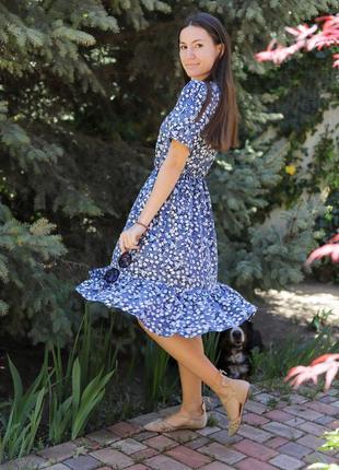 Легкое летнее платье из натуральной ткани украинского бренда lete