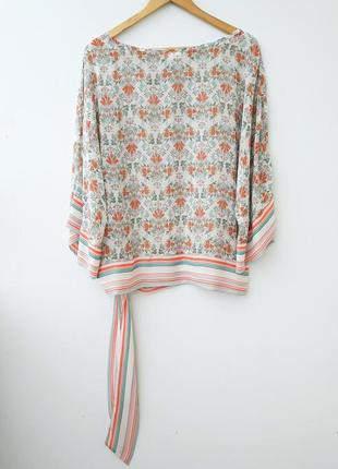 Ексклюзивная блуза кимоно с завязками на бедрах 12 142 фото