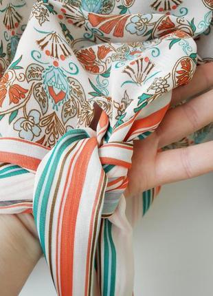 Ексклюзивная блуза кимоно с завязками на бедрах 12 145 фото