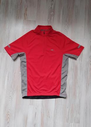 Детская спортивная футболка на ребенка для велоспорта crane 134-140см