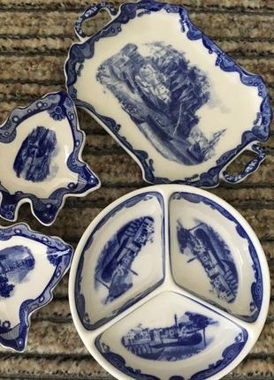 Фарфоровая посуда набор из порцелана италия ручная работа