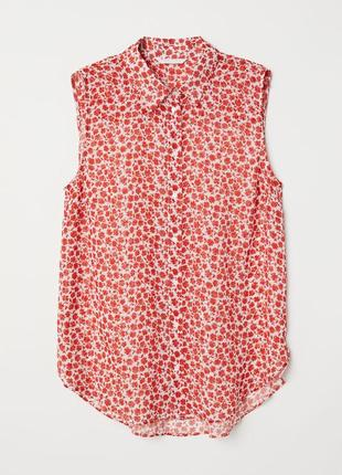 Невесомая блуза hm eur 36 uk 10