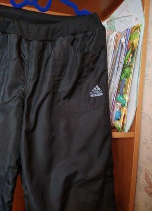 Продам тёплые зимние штаны на девушку 44-46р.3 фото